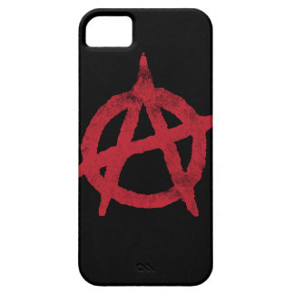 Círculo A de la anarquía iPhone 5 Case-Mate Protector