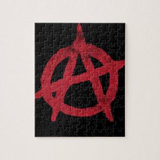 Círculo A de la anarquía Rompecabeza Con Fotos