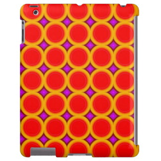 Círculo abstracto funda para iPad