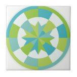 Círculo abstracto tejas  cerámicas