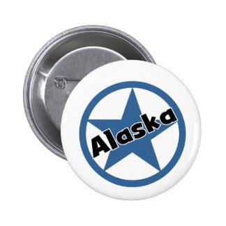 Círculo Alaska Pin Redondo De 2 Pulgadas