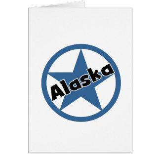 Círculo Alaska Tarjeta De Felicitación
