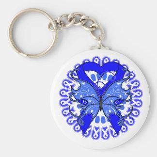 Círculo Ankylosing de la mariposa de Spondylitis d Llavero Redondo Tipo Pin