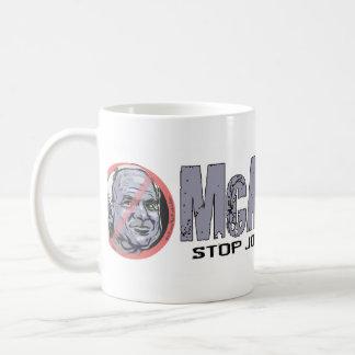 Círculo Anti-McCain McAncient Taza Clásica