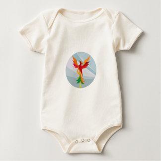 Círculo ardiente de levantamiento del árbol de body para bebé