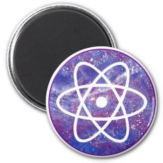 Círculo atómico imán redondo 5 cm