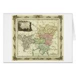 Círculo austríaco del mapa del Sacro Imperio Roman Tarjeta De Felicitación