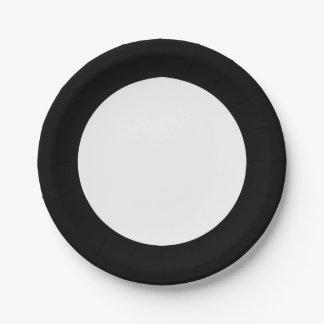 Círculo blanco y negro