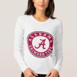 Círculo carmesí de la marea de Alabama Playeras