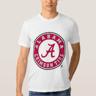 Círculo carmesí de la marea de Alabama Remeras