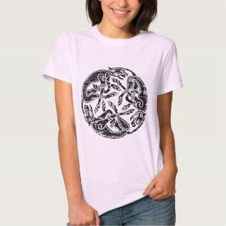 Círculo céltico apenado camisas