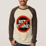 Círculo cruzado anti de Romney - .png Camisas