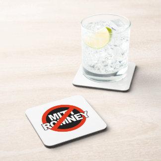 Círculo cruzado anti de Romney - .png Posavasos De Bebidas