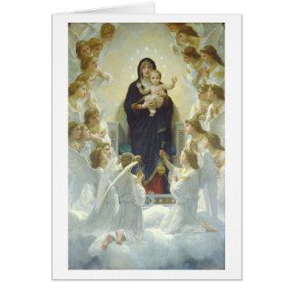 Círculo de ángeles felicitacion