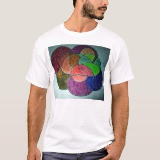Círculo de colores playera
