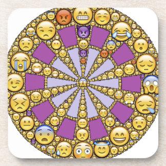 Círculo de emociones posavasos