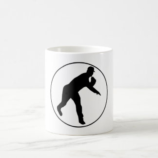 Círculo de jarra del béisbol taza de café