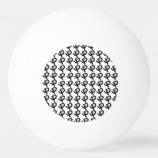 Círculo de KPL más logotipos una bola de ping-pong Pelota De Tenis De Mesa