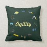 Círculo de la agilidad almohadas