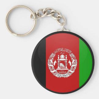 Círculo de la bandera de la calidad de Afganistán Llavero Personalizado