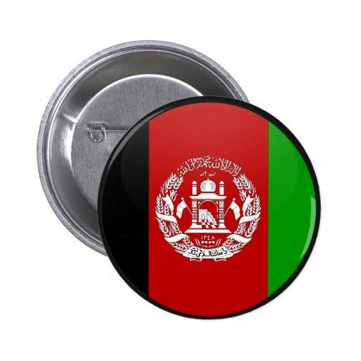 Círculo de la bandera de la calidad de Afganistán Pins