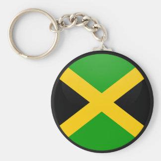 Círculo de la bandera de la calidad de Jamaica Llavero Redondo Tipo Pin