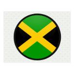 Círculo de la bandera de la calidad de Jamaica Postal