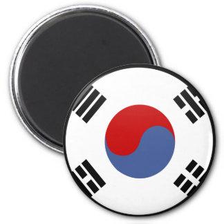Círculo de la bandera de la calidad de la Corea de Imán De Nevera