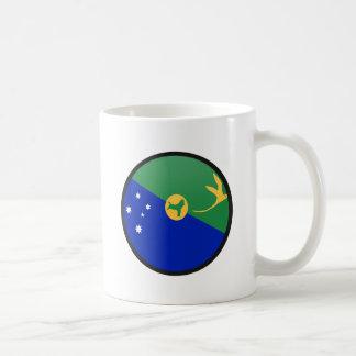 Círculo de la bandera de la calidad de la Isla de Tazas