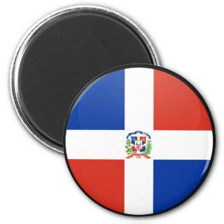 Círculo de la bandera de la calidad de la Repúblic Imán De Frigorífico
