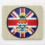 Círculo de la bandera de la calidad de las Islas C Alfombrilla De Raton