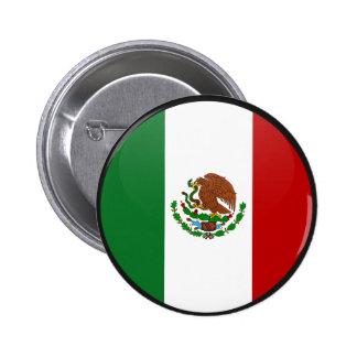 Círculo de la bandera de la calidad de México Pin
