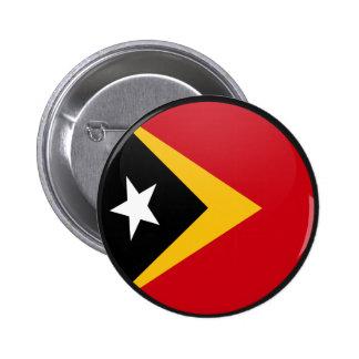 Círculo de la bandera de la calidad de Timor Orien Pin