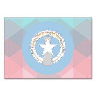 Círculo de la bandera de Northern Mariana Islands