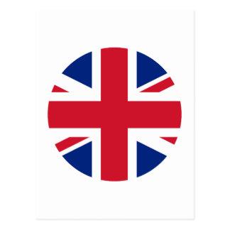 Círculo de la bandera de Reino Unido el MUSEO Postales