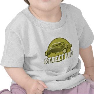 círculo de la barra de la calle camisetas