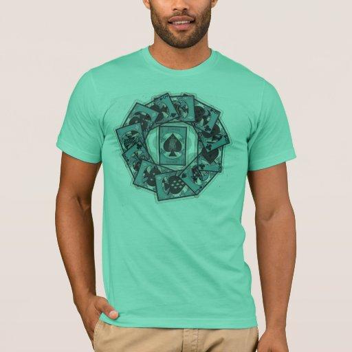 círculo de la camiseta de la muerte