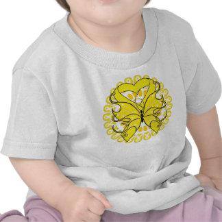 Círculo de la conciencia de la prevención del camiseta