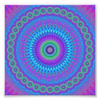 Círculo de la estrella fotografías