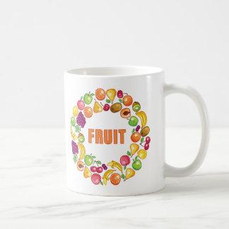 Círculo de la fruta taza clásica