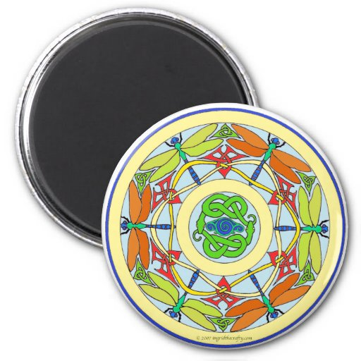 círculo de la libélula iman