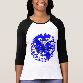Círculo de la mariposa de la enfermedad del ALS de Camisetas