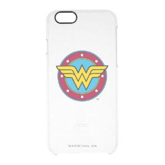 Círculo de la Mujer Maravilla el | y logotipo de Funda Clear Para iPhone 6/6S