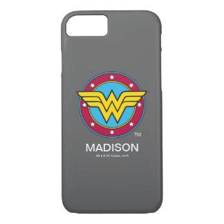 Círculo de la Mujer Maravilla el | y logotipo de Funda iPhone 7