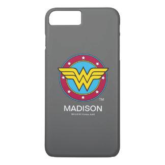 Círculo de la Mujer Maravilla el | y logotipo de Funda iPhone 7 Plus