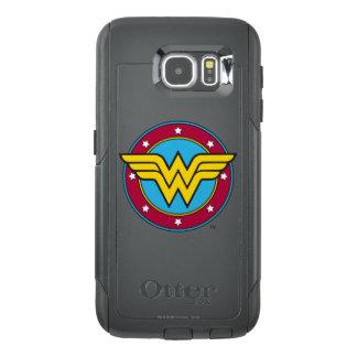 Círculo de la Mujer Maravilla el | y logotipo de Funda OtterBox Para Samsung Galaxy S6