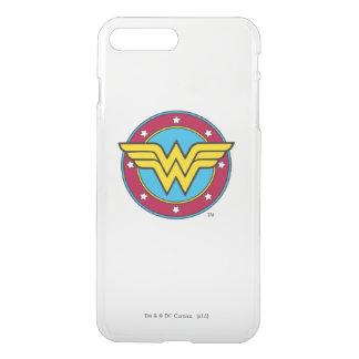 Círculo de la Mujer Maravilla el | y logotipo de Fundas Para iPhone 7 Plus