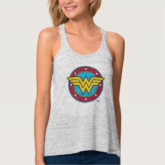 Círculo de la Mujer Maravilla el | y logotipo de Playera Con Tirantes