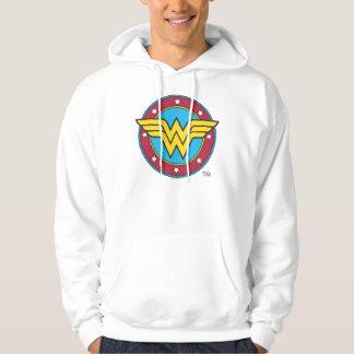Círculo de la Mujer Maravilla el | y logotipo de Sudadera