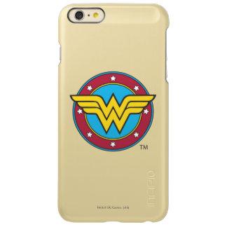 Círculo de la Mujer Maravilla y logotipo de las